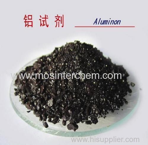 Aluminon CAS 569-58-4 Ammonium auritricarboxylate triammonium salt Triammonium aurinetricarboxylate