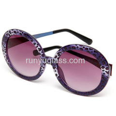 Plastic Fashion Women Custom Wayfarer Sunglasses 3D Printing Fashion Sunglasses