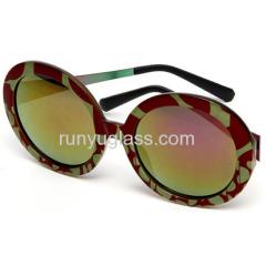 2014 Hot New Stylish Polarized Sunglasses 3D Printing Fashion Sunglasses