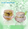 2014 new cream jar acrylic diamonds jars 50g jar and 60g jars beauty care personal care product package