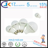 fire resistant 3w to 12w E27 led bulb light plastic housing