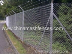 Project Galvanized chain link mesh fence