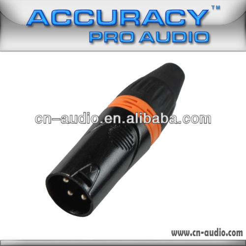 Professional 3 pin New XLR Male Audio and Video Connector XLR188ORG