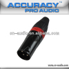 Professional 3 pin New XLR Male Audio and Video Connector XLR188RD
