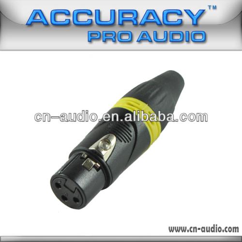 Professional New XLR female Audio and Video Connector XLR187Y