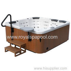 Portable Massage Bathtub Hot Tub outdoor spa with 162 Jets