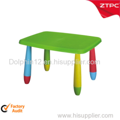 plastic kids table ZTT-322