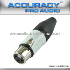Professional 3-pin Latch Locking XLR female Connectors XLR193
