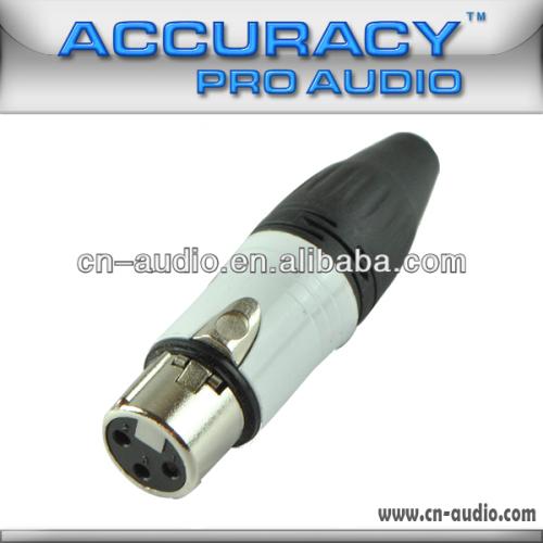 Professional 3-pin Latch Locking XLR female Connectors XLR193