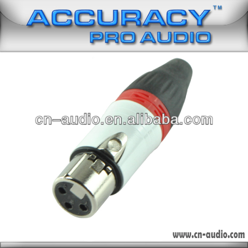 3pin XLR female Audio Connector XLR193ORG