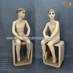 Face makeup child mannequins