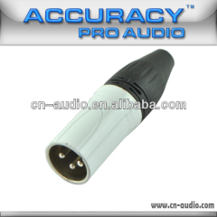 Professional 3-pin XLR male Connector XLR194