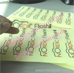 Custom Transparent Self Adhesive Labels With Company Logo Or Design,Printed Transparent Adhsive Labels for Products Pack