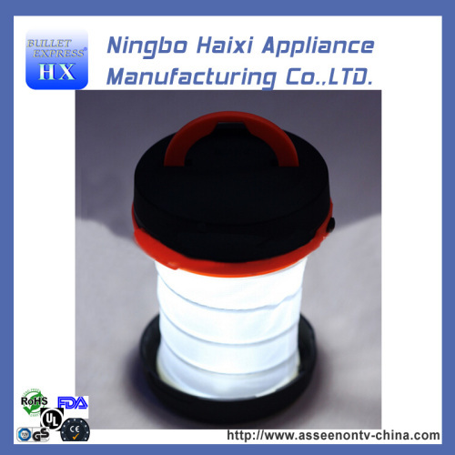 Telescopic Rainproof Collapsible Hand crank LED Lantern