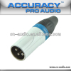 Professional 3pin XLR male Audio Connector XLR194BL