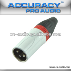 3pin XLR Male Audio Connector XLR194RD