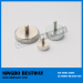 Pot Magnets W/M4 Thread Male Screw