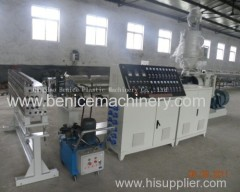 Hollow grid plate extrusion machine