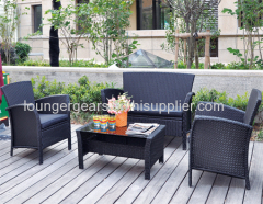 Wicker Rattan Sofa Furnitures Set LG8101