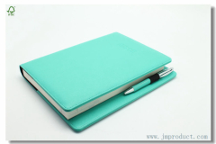 Leatherette Wireless Agenda Planner With pen Loop
