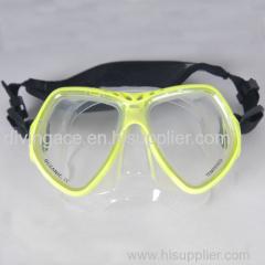 Profession sea diving equipment scuba dive Mask