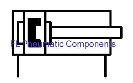 DNC Pneumatic Air Cylinders