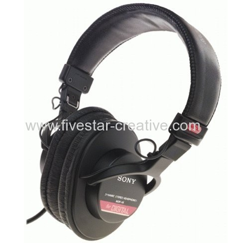Sony MDR-V6 Closed Back Dynamic Stereo Circumaural Studio Headphones