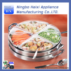 buffet stainless steel food warmer