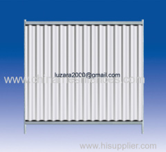 Free Standing Hoarding Type Fence Solid Hoarding Panel