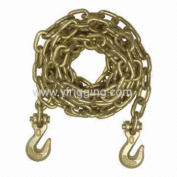 USA Standard Chain With Hooks (Jaw Hooks/ Eye Hooks)