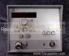 Agilent 83595A -002- 10MHz to 26. GHz RF Plug-In For AT 8350B Sweep Oscillator