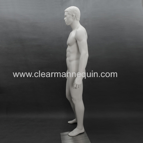 Standing pose FRP cheap male mannequin