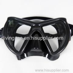 M24BS-BK-01 Wide view prefessional scuba diving gear free sea diving mask black