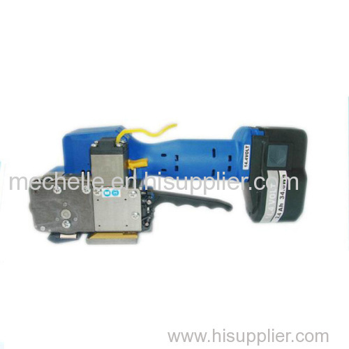Battery strapping machine ZP323 branded electric power PP PET strap tools