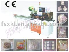Rotary pillow food packaging machine from China factory