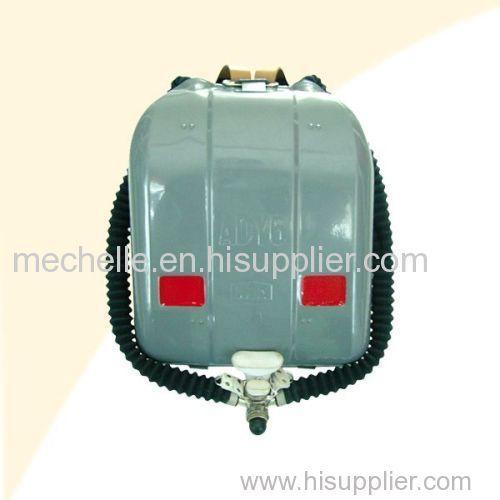 portable negitive oxygen breathing apparatus for emergency elf-rescue breathing apparatus
