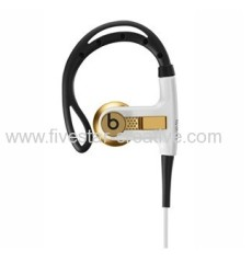 Gold Limited Edition Headphones With Remote Control Powerbeats from Beats by Dre Headphones