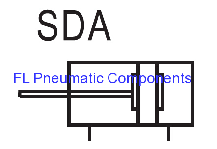SDA Thin Type Air Cylinders