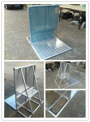 Free Standing Galvanized Stage Barrier