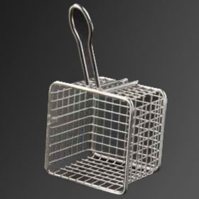 Small stainless steel fryer basket frying basket