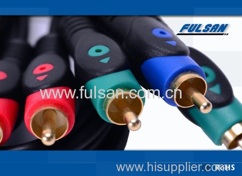 3RCA to 3RCA Audio video cable component cable RGB cable