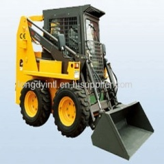 JC100 Longdy Brand Wheel Skid Steer Loader