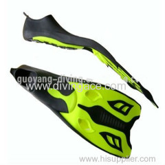 scuba diving fins silicone snorkel swimming fins