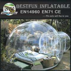 high transparency clear inflatable bubble tent