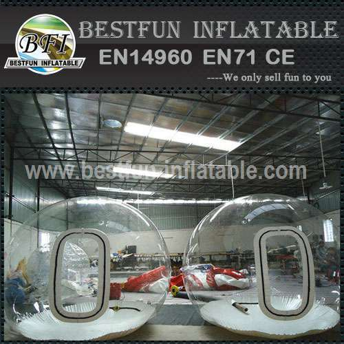 Inflatable Bubble Tent with Rooms and Entrance