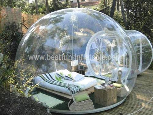 Event Advertising Bubble Tent