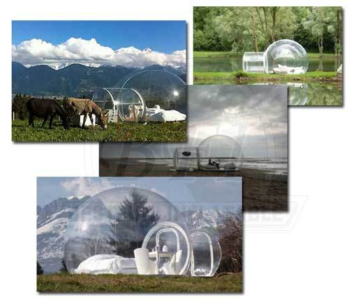 Casual convenient clear bubble tent