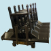 Construction Equipment Weldment parts