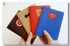American Comic Hero Composition Notebook-Wide Ruled