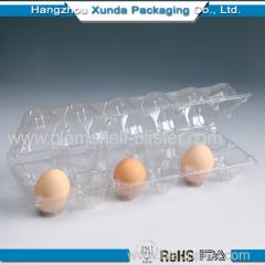 Plastic 12 eggs tray